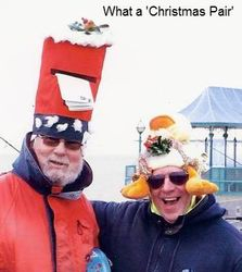 Xmas Pairs 'Funny Hat' Winners