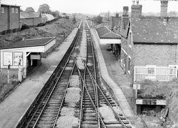 Brownhills Station in 1962