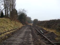 Pictures Taken between Coppice Lane Bridge Hammerwich and Station Limits
