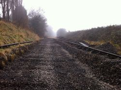 Another view of the trackbed