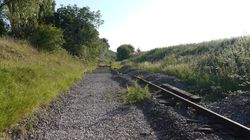 Track bed at hammerwich