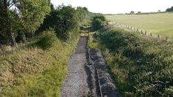 View towards Brownhills from the footbridge