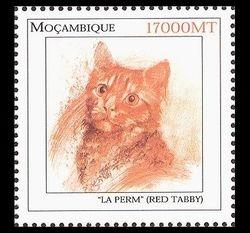 LaPerm stamp