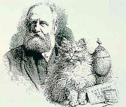 Harrison Weir, the father of the cat fancy