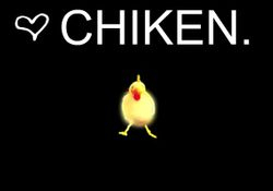 Yes; Chiken.