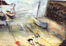 """Harbour Life    Mixed  12 x 9"""""""