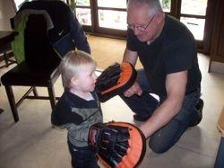 Punching practice