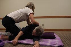 Advanced Spinal Twist w/Back Sen Lines