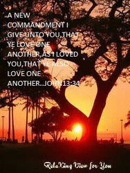 LOVE ME MEANS LOVE GOD
