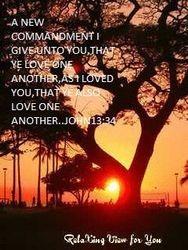 LOVE ME MEANS LOVE GOD