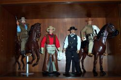 "High Noon, Josey Wales, Hondo & Wanted"" Dead or Alive"
