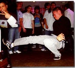 Meka dancing at Modern