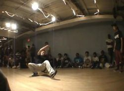 Meka at a battle in DC