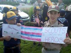 Scouts Salute Veterans