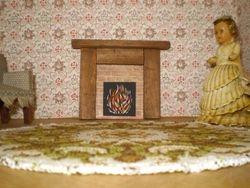 repro fireplace