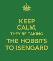 They're still taking the hobbits to Isengard