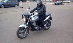 Jauns macibu motocikls A kategorijas apguvei
