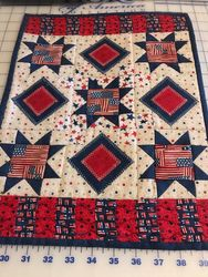 Quilt for the RED,WHIITE, & BLUE Stars