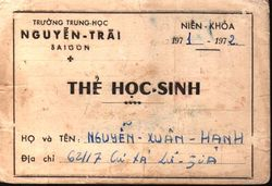 The Hoc Sinh