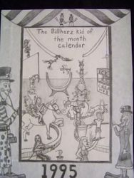 Billharz calendar design