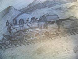 2-6-0 Train
