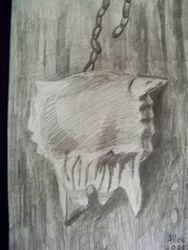 Bone with chain