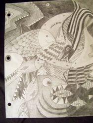 Fish abstract 3
