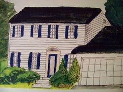 Virginia house.