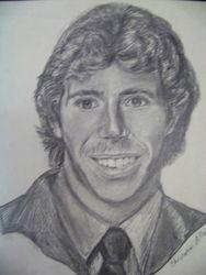 High school self portrait