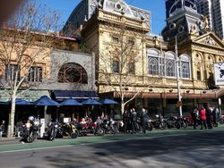 The European Cafe, Spring St, Melbourne