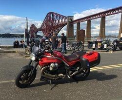 Mark Galli at Forth Bridge, Scotland.