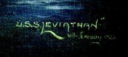 USS Levathian signature