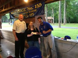 2013 Acacia Lodge Scholarship Winner