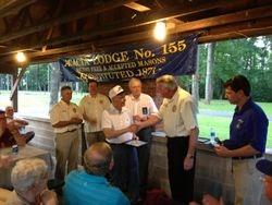 60 Year Masonic Service Award