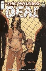The Walking Dead # 34 [2nd print - Orange cover]