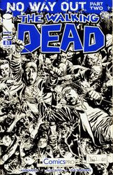 The Walking Dead # 81 comic pro variant