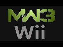 MW3 Wii