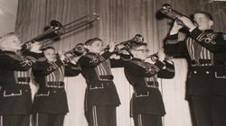 Boyertown Junior High School Brass ensemble 1960