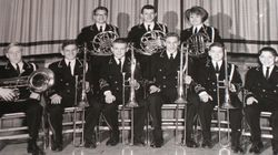 Boyertown Junior High School brass players ~