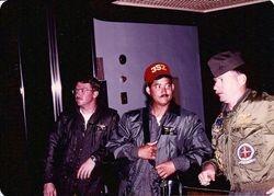 Dave Gresham, Mike, Capt Ohlman