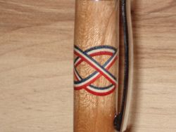 Celtic Cross - R, W & B