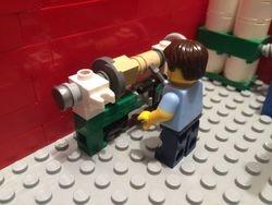 My Lego Lathe Man!