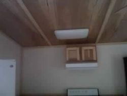only top kitchen cabinet and vent