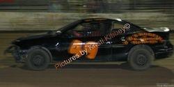 he is racing