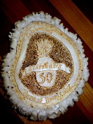Commemorative Elk Crown Carving