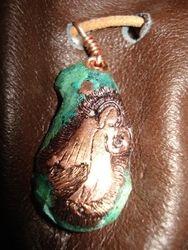 Copper Angel Pendant