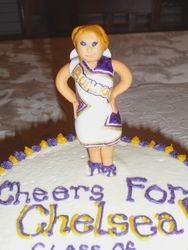 Mini Chelsea Cheerleader