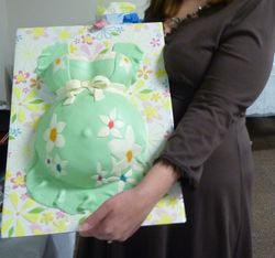 Kim's Belly Cake