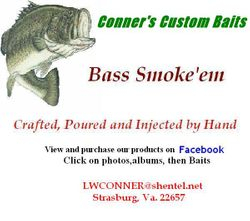 Conner's Custom Baits Logo
