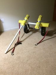 Kayak dolly  (not glued or finished)